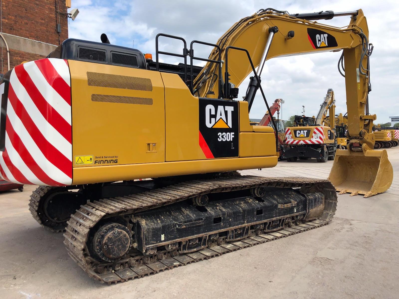 2017 CAT 330 FL Track Excavators from Littler Machinery